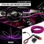 Fita Led Roxo 5 Metros Painel Inteiro De Carro Neon