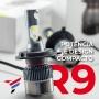 Kit Ultra Super Led Full R9 H4 6000k 9.000 Lm Melhor Foco