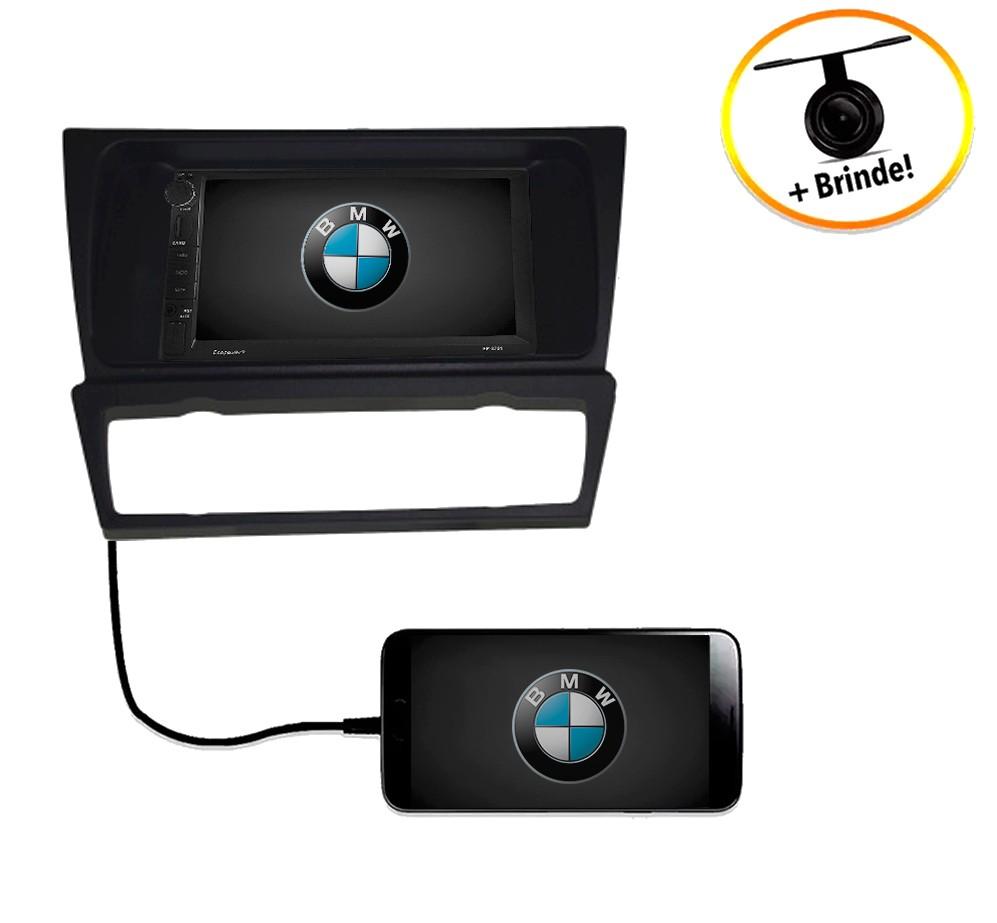 Central Multimídia BMW Série 3 E90 / E93 2007 à 2011TV Digital GPS Espelha IOS e Android