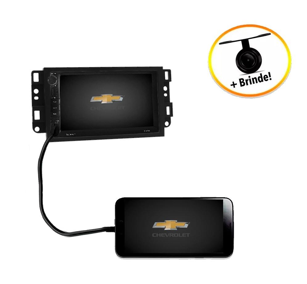 Central Multimídia Chevrolet Captiva 2008 à 2015 TV Digital GPS Espelha IOS e Android