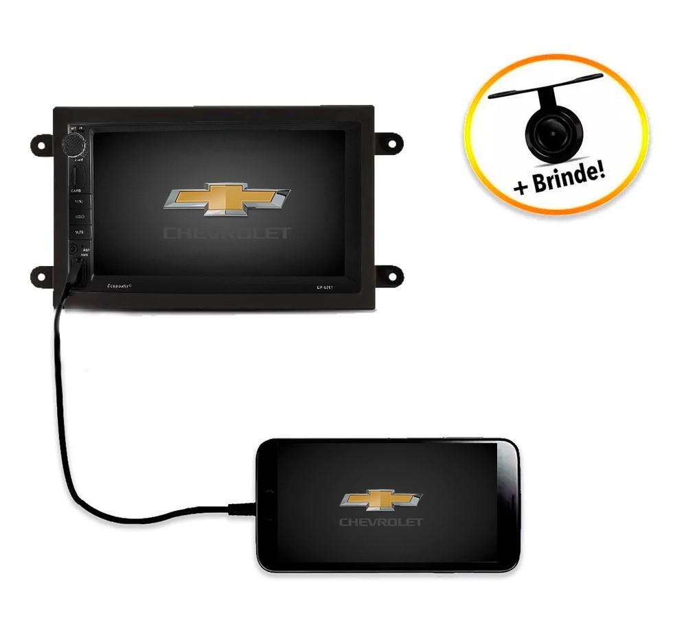 Central Multimídia Chevrolet Cobalt TV Digital GPS Espelha IOS e Android