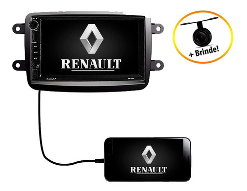 Central Multimídia Completo Renault Duster Oroch 2017