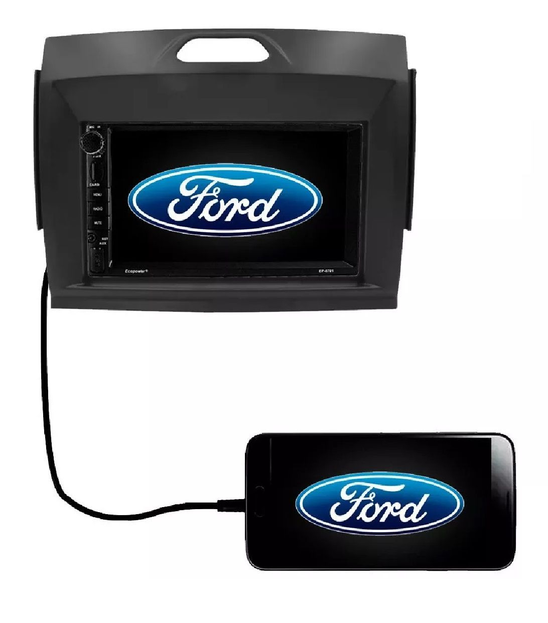 Central Multimídia Dvd Ford Ranger 2016 2017 2018 2019