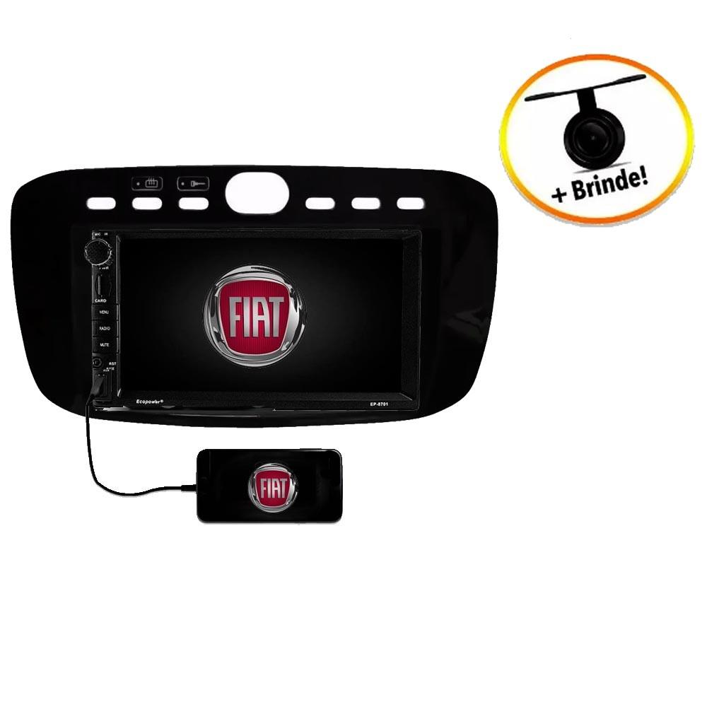 Central Multimídia Fiat Punto  20015 à 2016 TV Digital GPS Espelha IOS e Android