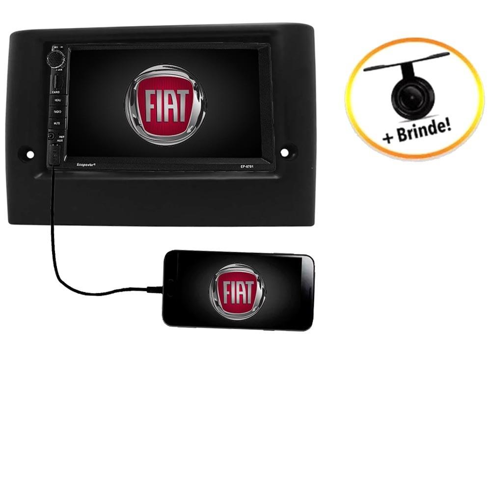 Central Multimídia Fiat Stilo TV Digital GPS Espelha IOS e Android