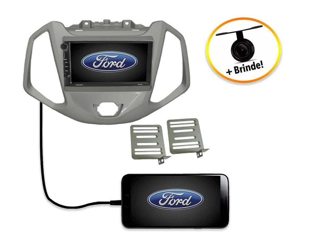 Central Multimídia Ford Ecosport  2013 à 2016  TV Digital GPS Espelha IOS e Android