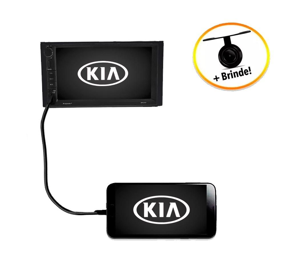 Central Multimídia Kia Sorento 2007 à 2009 TV Digital GPS Espelha IOS e Android