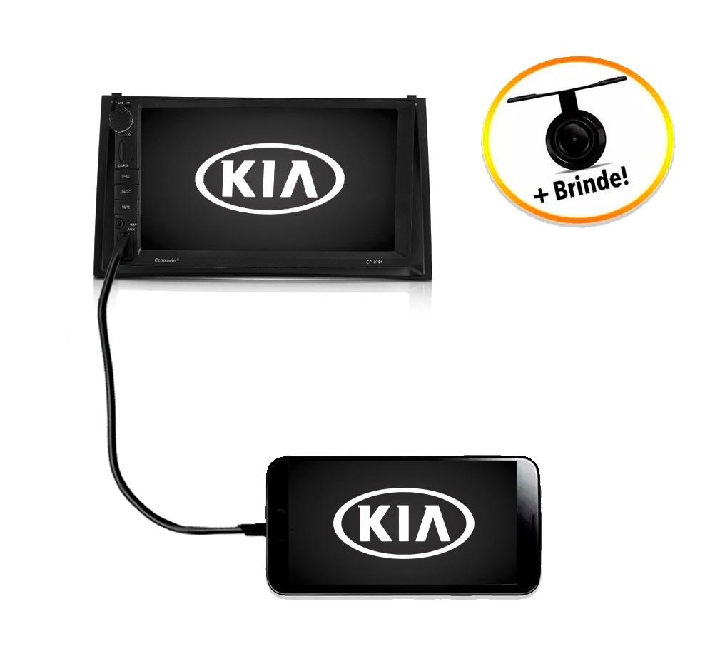 Central Multimídia Kia Soul 2010 à 2013 TV Digital GPS Espelha IOS e Android