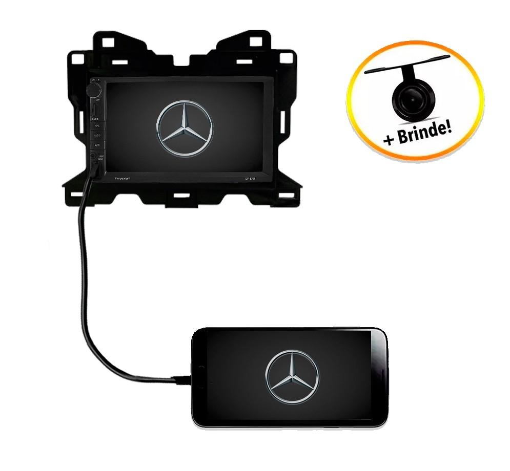 Central Multimídia Mercedes-Benz Nova Sprinter 2020 TV Digital GPS Espelha IOS e Android