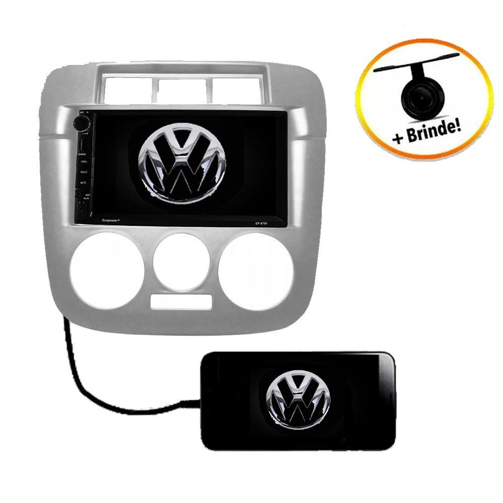 Central Multimídia VW GOL G4 TV Digital GPS Espelha IOS e Android
