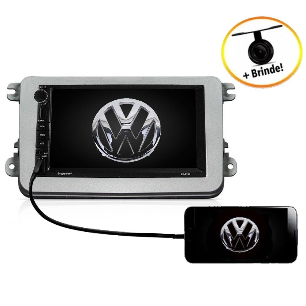 Central Multimídia VW  NOVO PASSAT  TV Digital GPS Espelha IOS e Android