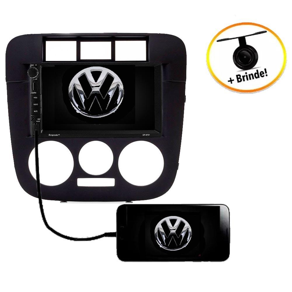 Central Multimídia VW Parati G4 TV Digital GPS Espelha IOS e Android