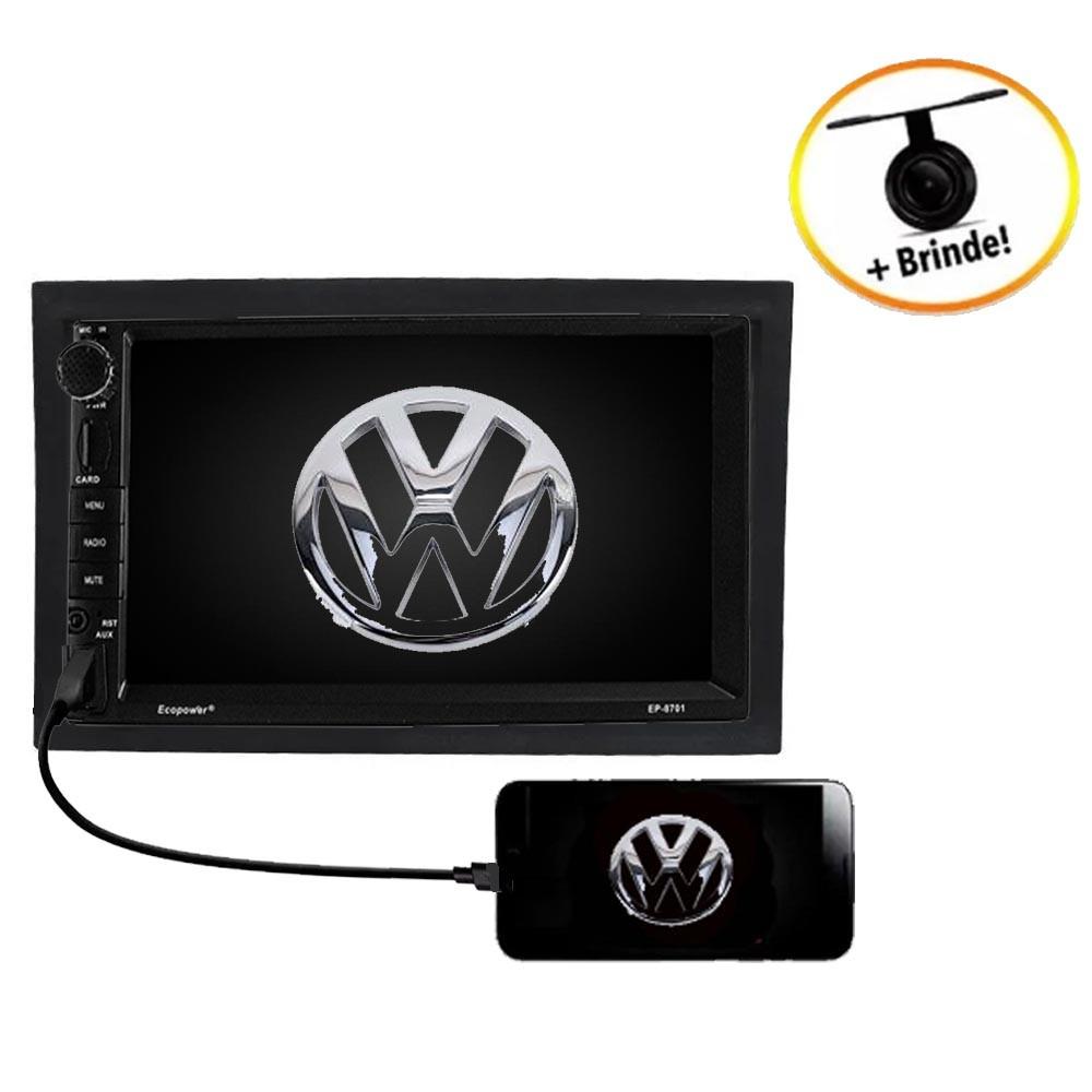Central Multimídia VW  POLO TV Digital GPS Espelha IOS e Android
