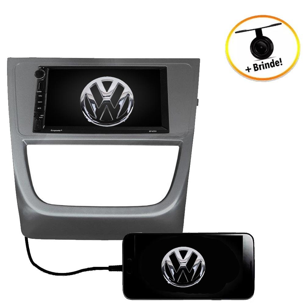 Central Multimídia VW SAVEIRO CROSS  TV Digital GPS Espelha IOS e Android