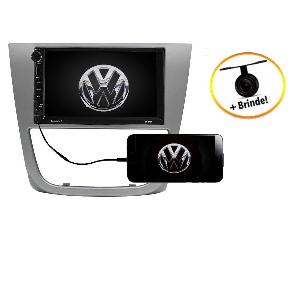 Central Multimídia VW Saveiro G5 TV Digital GPS Espelha IOS e Android