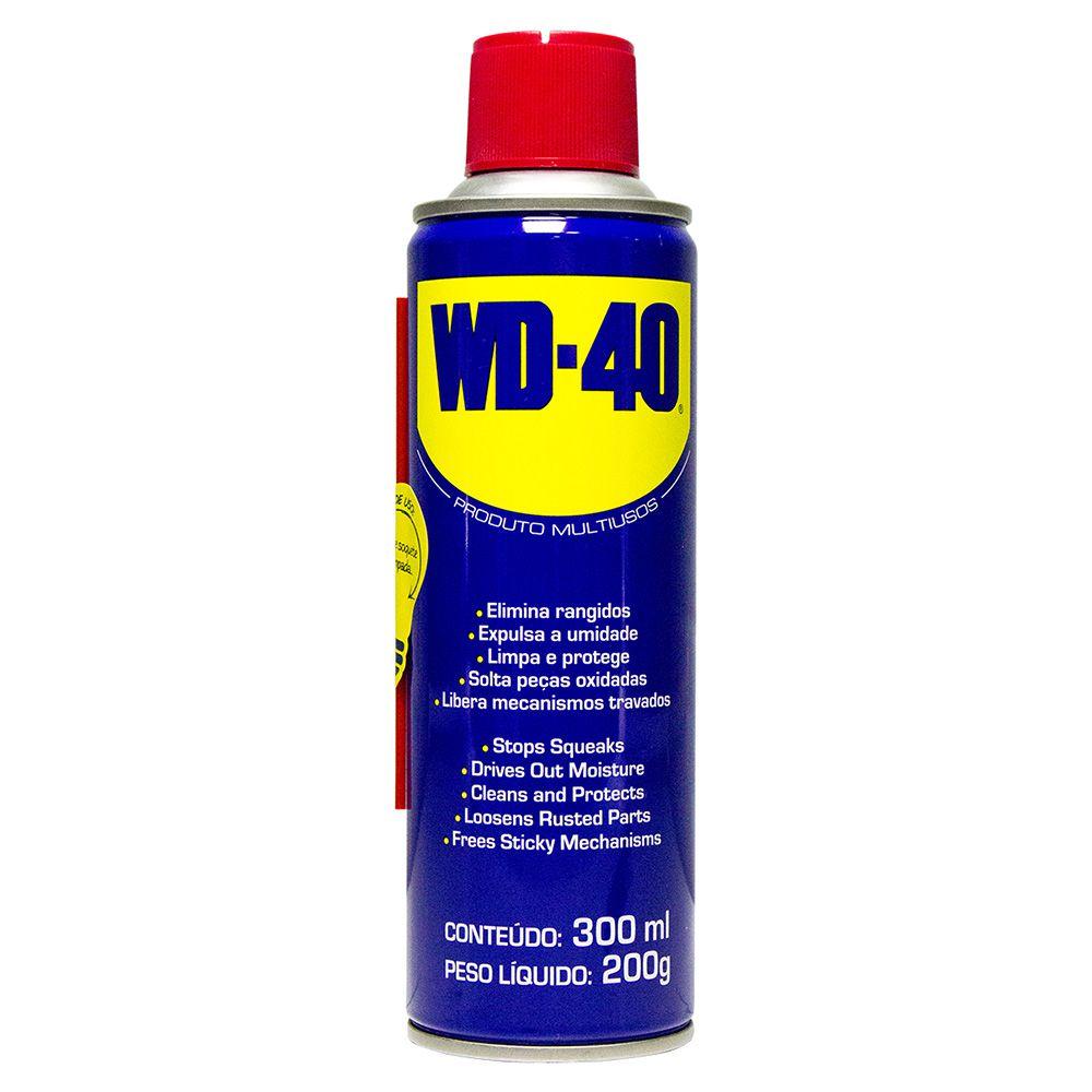 Kit 03 unidades Spray Desengripante 300ml 200g WD40