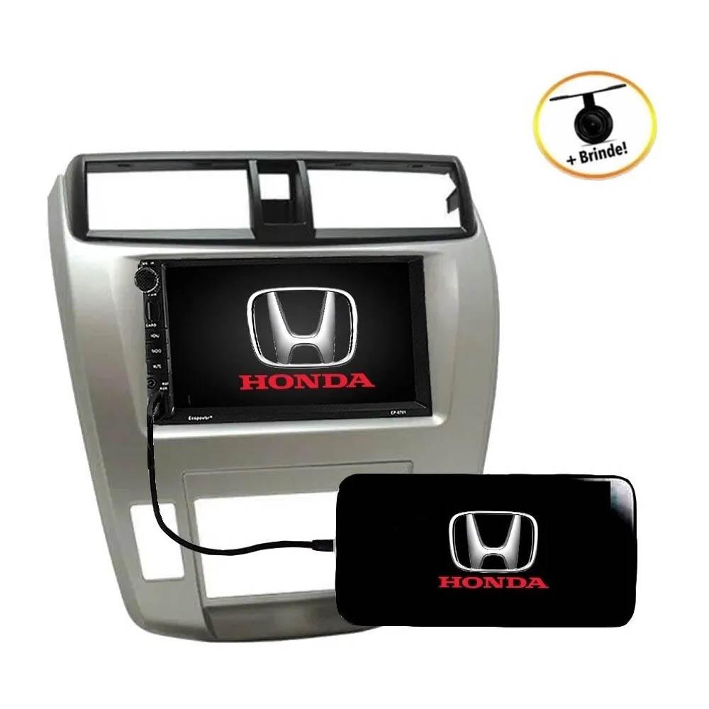 Multimídia Honda City 2008 2014 Com Espelhamento Android