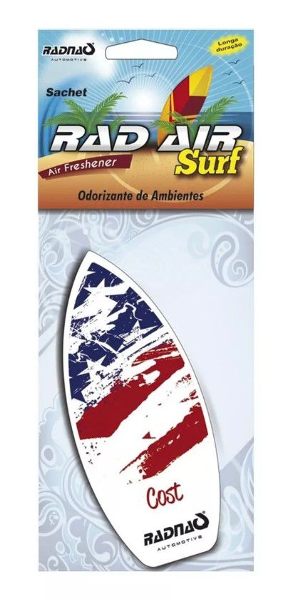 Perfume Automotivo Surf Sache - Aromatizante - Kit com 12 Unidades