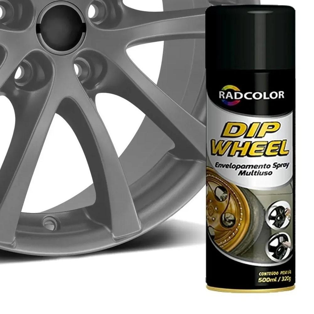 Spray Envelopamento Líquido Película Dip Wheel Grafite 500ml