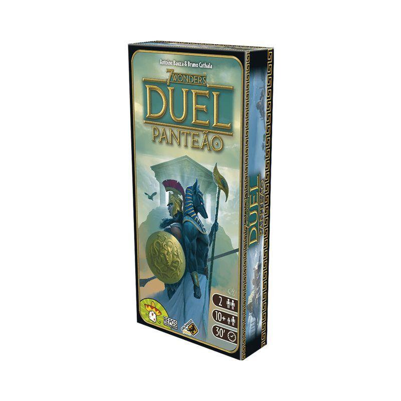 7 Wonders Duel: Panteao - Expansão Jogo de Tabuleiro - Galápagos Jogos (em português)