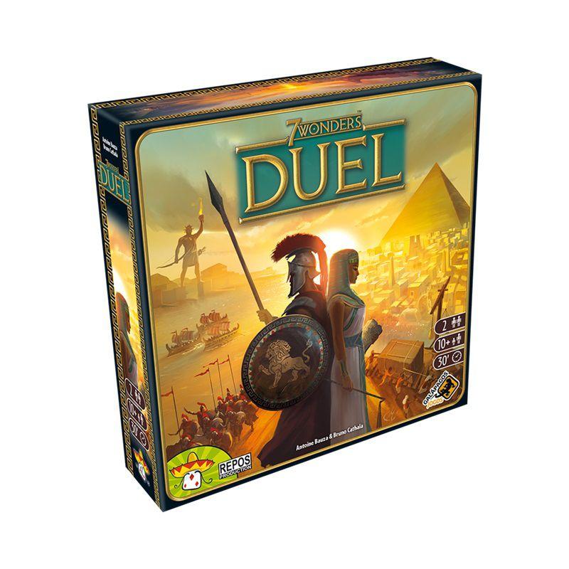 7 Wonders Duel + Sleeves