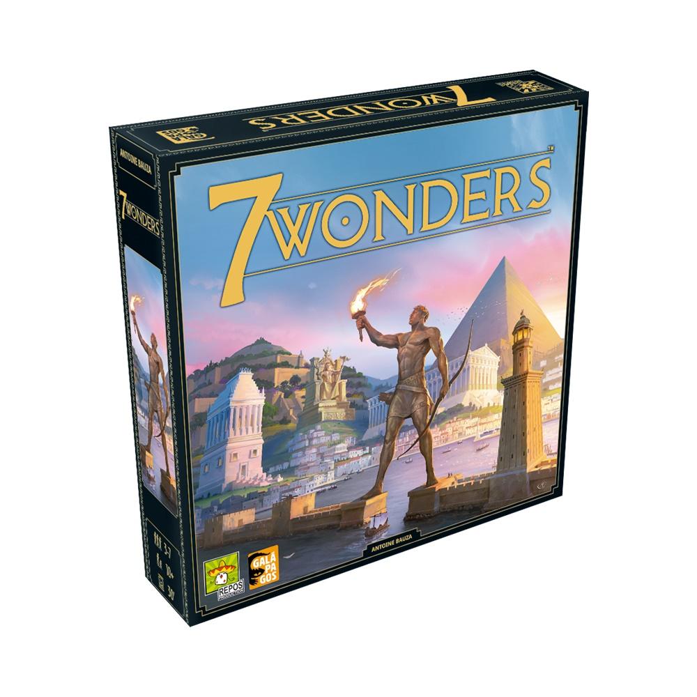 7 Wonders (Segunda Edição) - Jogo de Tabuleiro - Galápagos Jogos (em português)