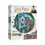 Harry Potter Beco Diagonal: Loja de Varinhas Olivaras e Instrumentos de Escrita Scribbulus - Quebra Cabeça 3D