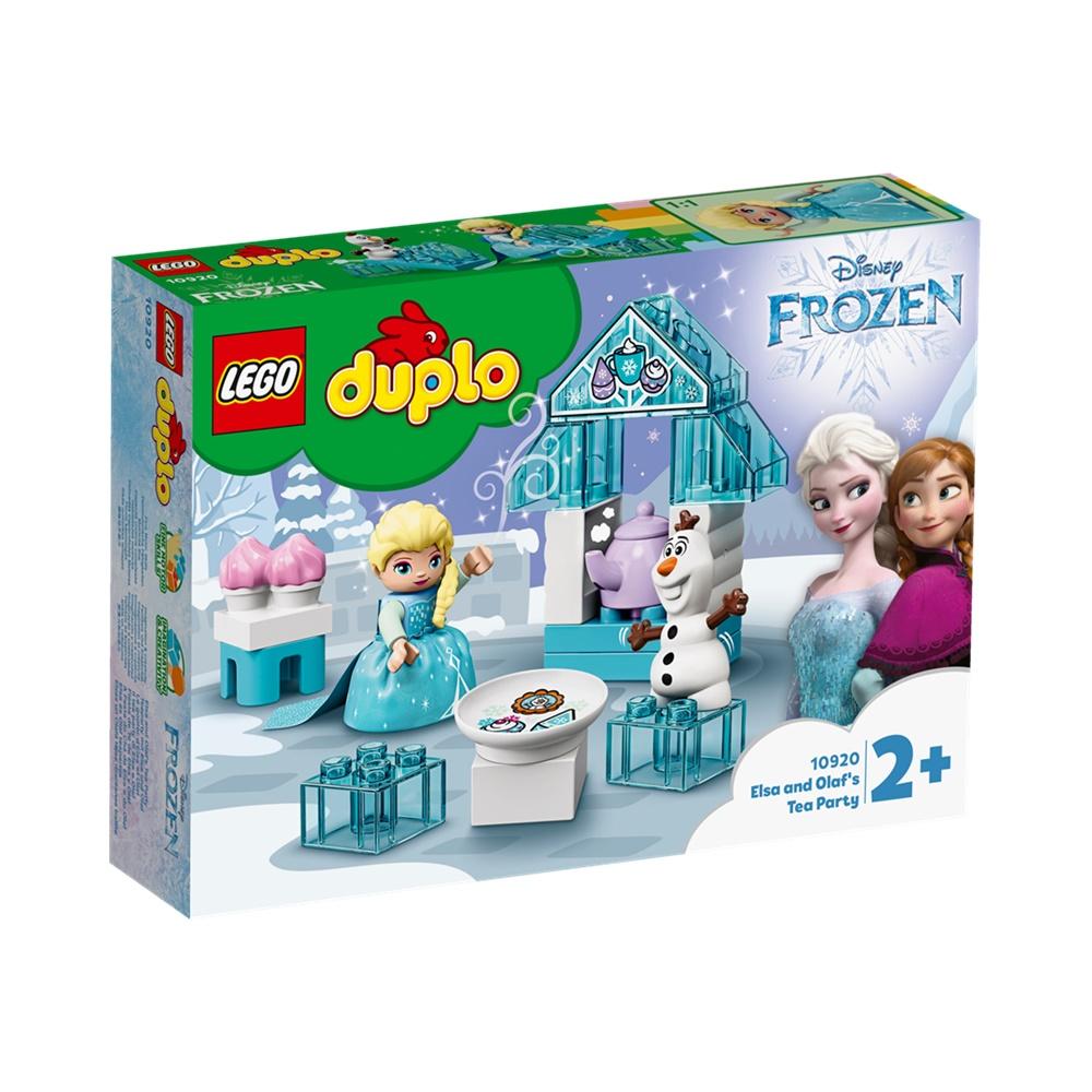 A Festa de Chá da Elsa e do Olaf - Lego Duplo 10920 - 17 Peças
