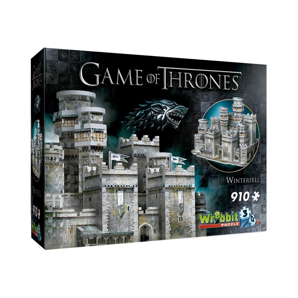 A Game of Thrones: Winterfell - Quebra Cabeça 3D