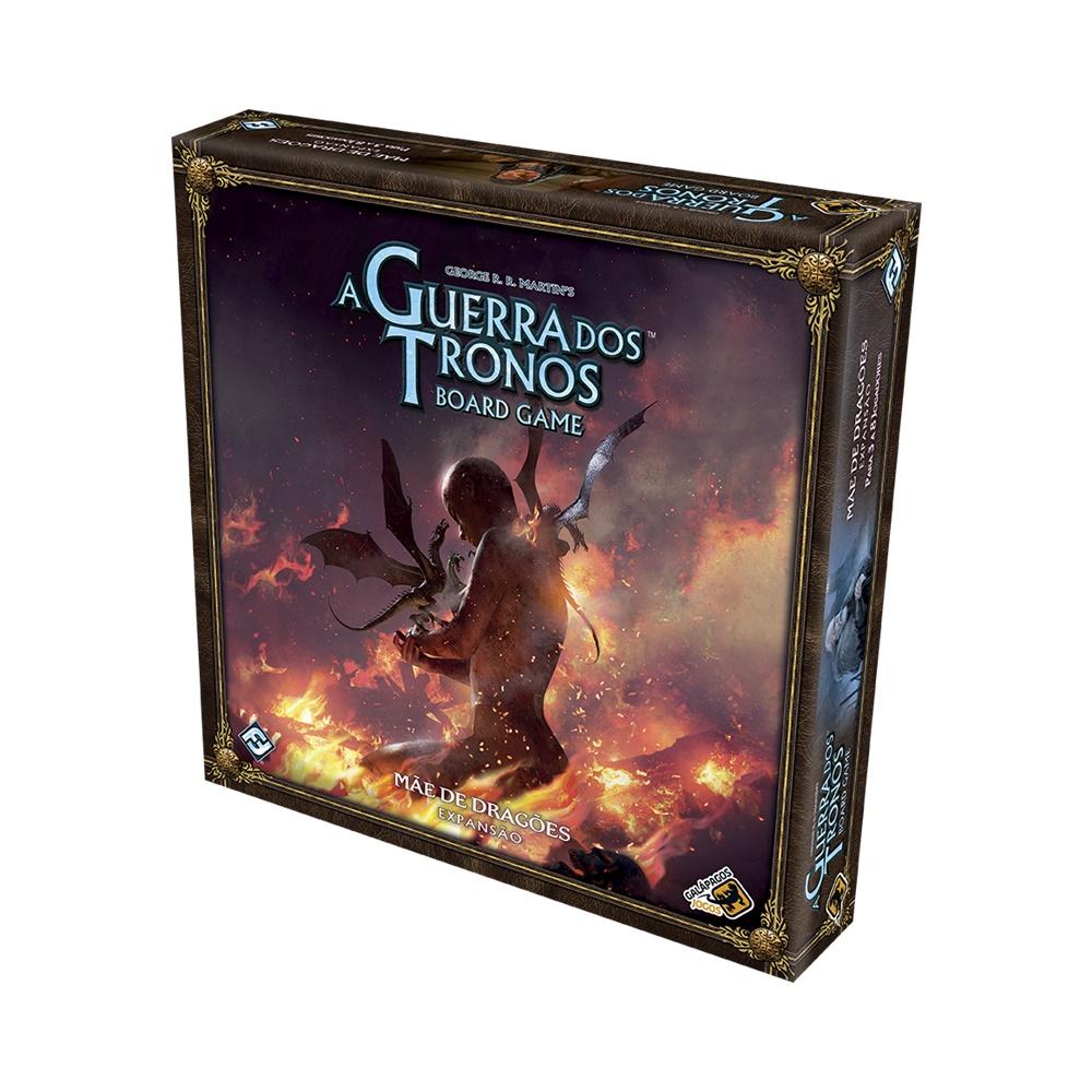 A Guerra dos Tronos: Mãe de Dragões - Expansão Jogo de Tabuleiro - Galápagos Jogos (em português)