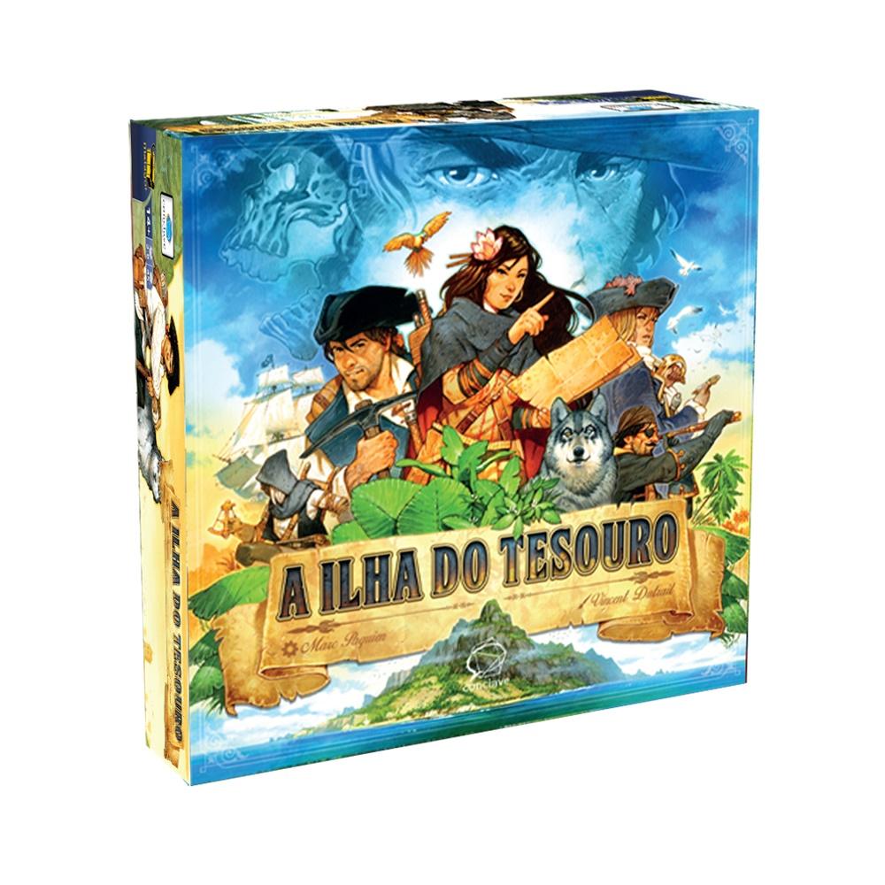 A Ilha do Tesouro - Jogo de Tabuleiro - Conclave Editora (em português)