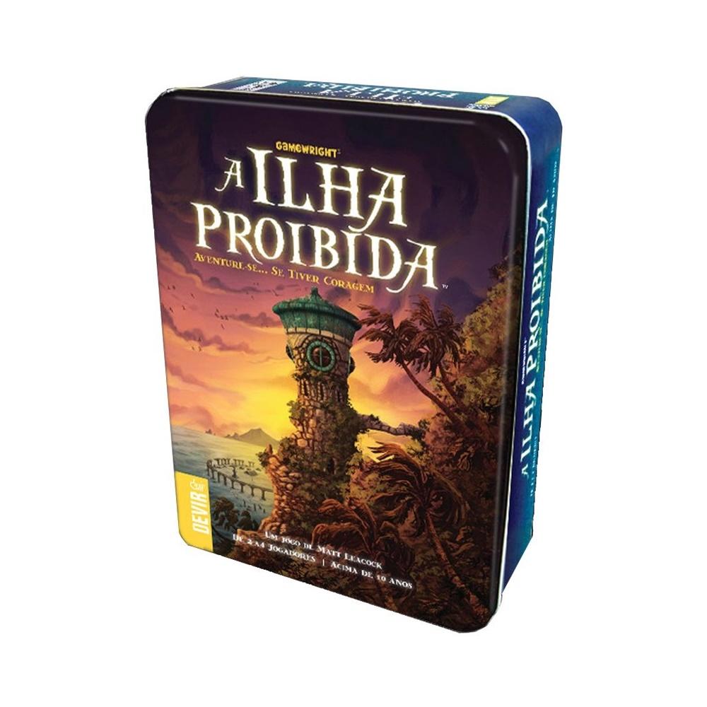 A Ilha Proibida - Jogo de Tabuleiro - Editora Devir (em português)