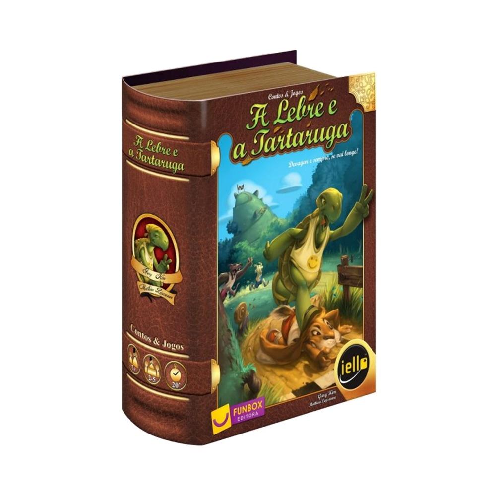 A Lebre e a Tartaruga - Jogo de Tabuleiro - FunBox Editora (em português)