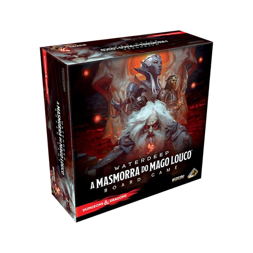 A Masmorra do Mago Louco (Dungeons and Dragons) - Jogo de Tabuleiro - Galápagos Jogos (em português)