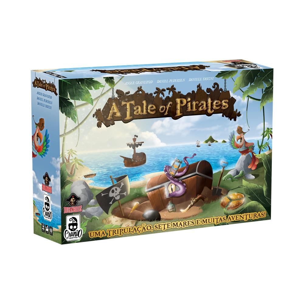 A Tale of Pirates - Jogo de Tabuleiro - Bucaneiros Jogos (em português)