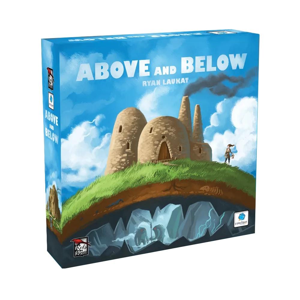Above and Below - Jogo de Tabuleiro - Editora Conclave (em português)