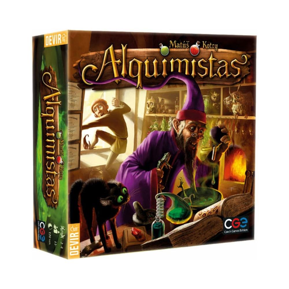 Alquimistas - Jogo de Tabuleiro - Editora Devir (em português)