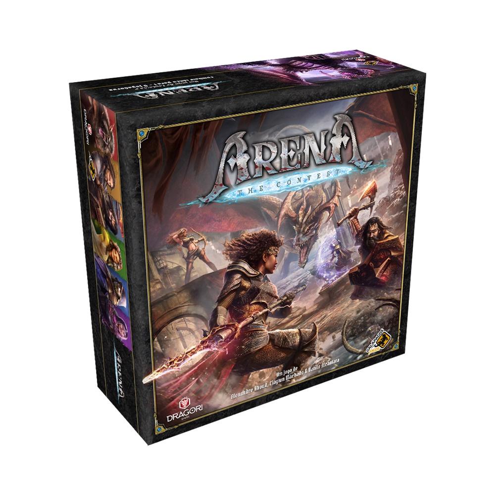 Arena: The Contest - Jogo de Tabuleiro - Galápagos Jogos (em português)