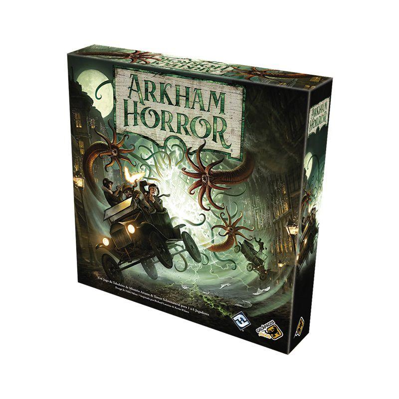 Arkham Horror + Calada Da Noite + Sleeves