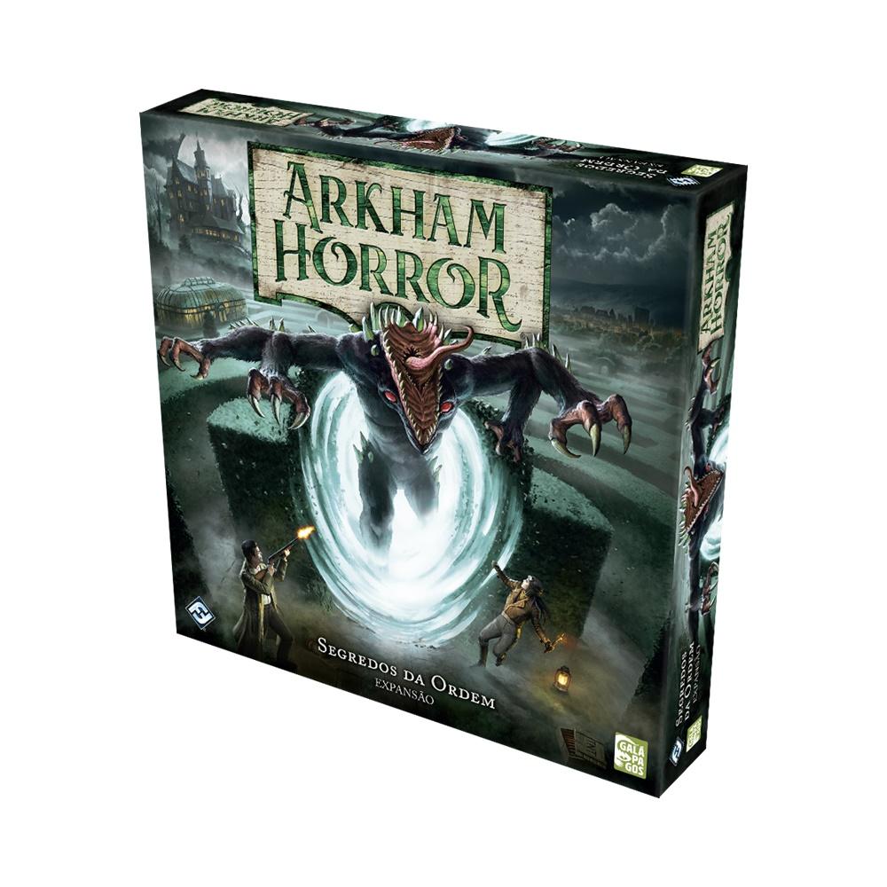 Arkham Horror: Segredos da Ordem - Expansão - Galápagos Jogos (em português)