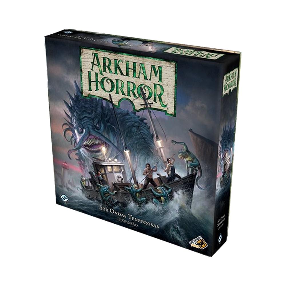 Arkham Horror: Sob Ondas Tenebrosas - Expansão - Galápagos Jogos (em português)