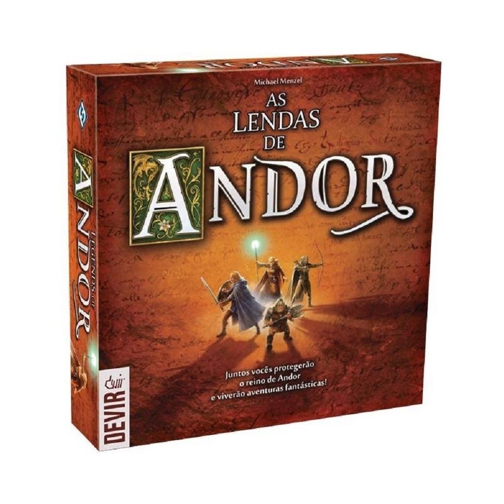 As Lendas de Andor - Jogo de Tabuleiro - Editora Devir (em português)