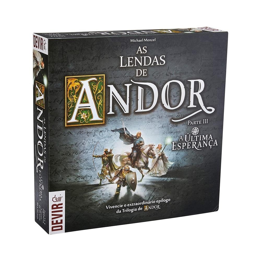 As Lendas de Andor: Última Esperança - Jogo de Tabuleiro - Editora Devir (em português)