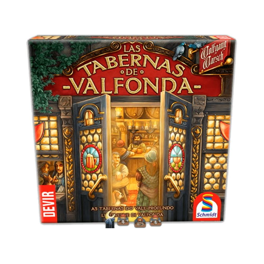 As Tabernas do Vale Profundo - Jogo de Tabuleiro - Editora Devir (em português)