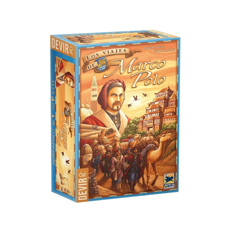 As Viagens de Marco Polo - Jogo de Tabuleiro - Editora Devir (em português)