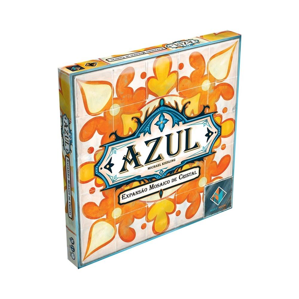 Azul: Mosaico de Cristal - Expansão Jogo de Tabuleiro - Galápagos Jogos (em português)