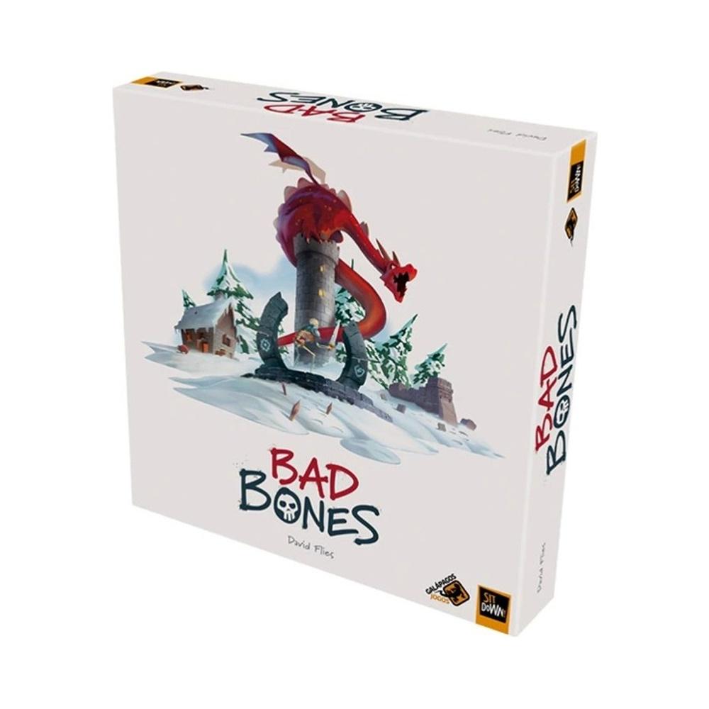 Bad Bones - Jogo de Tabuleiro - Galápagos Jogos (em português)
