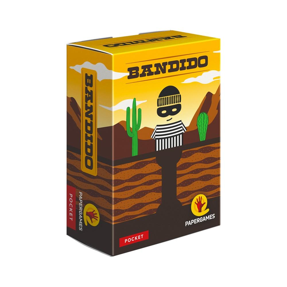 Bandido - Jogo de Cartas - Papergames (em português)