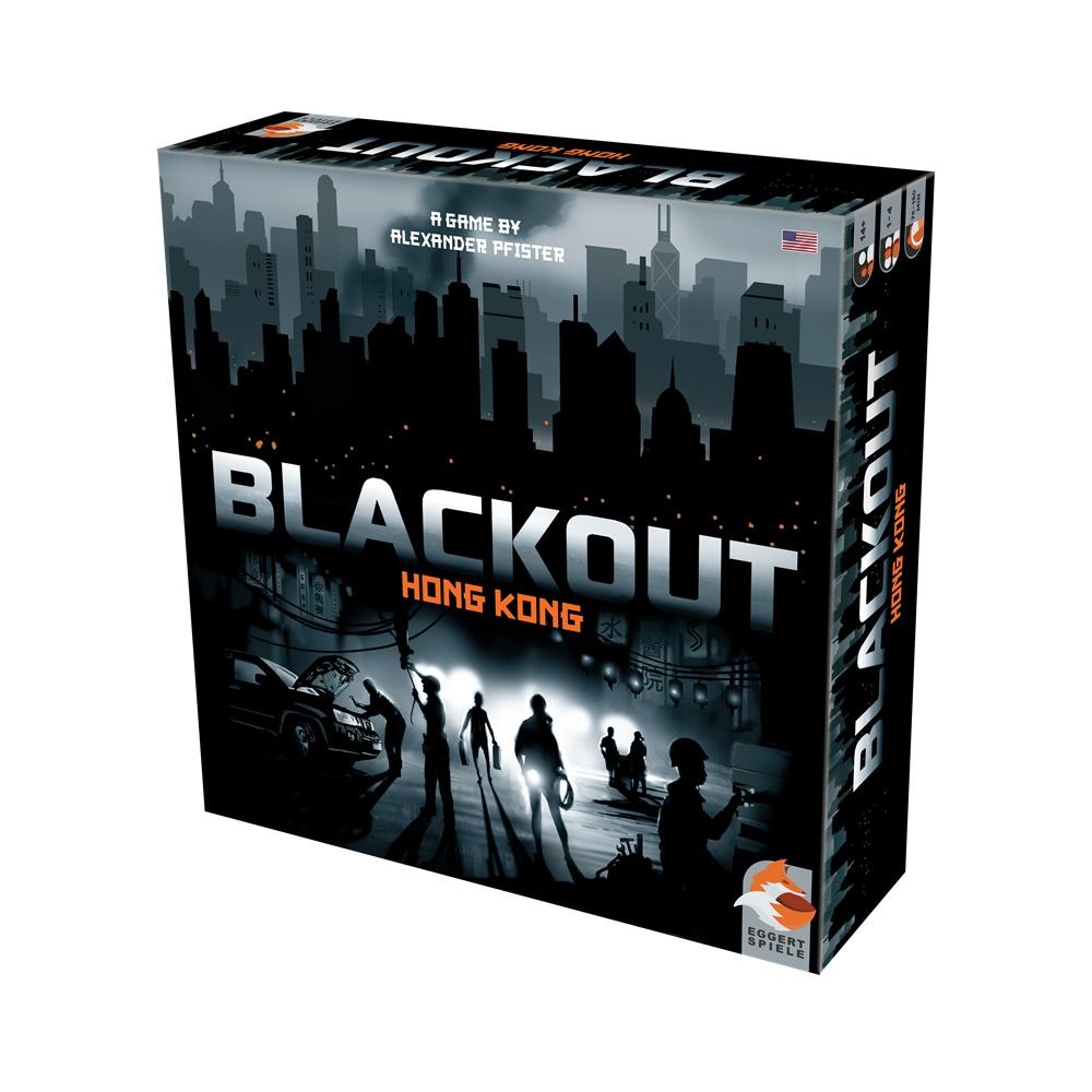 Blackout Hong Kong - Jogo de Tabuleiro - Galápagos Jogos (em português)