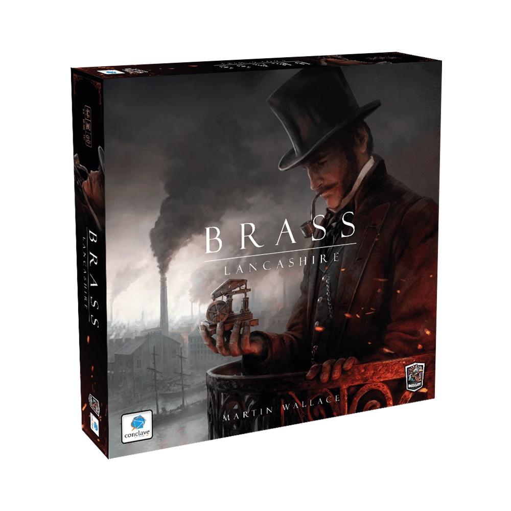 Brass: Lancashire - Jogo de Tabuleiro - Editora Conclave (em português)